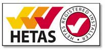 Leeds Stove Centre is HETAS registered.