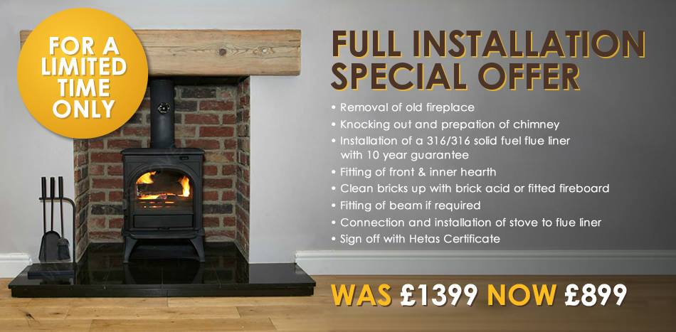 Leeds Stove Centre Offer!
