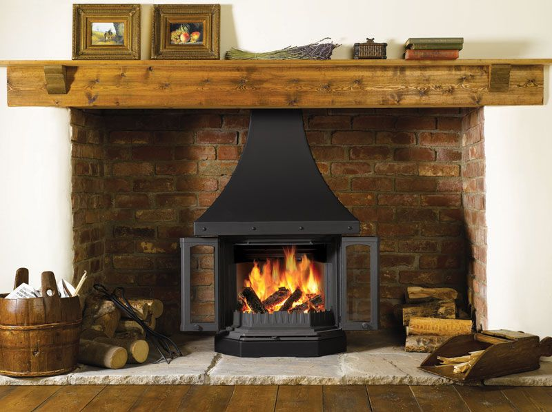 Dovre 2300 cb wood burning fireplace stove - Muebles de chimenea ...
