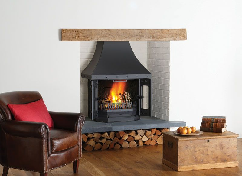 dovre 2700 multifuel and wood burning fireplace stove