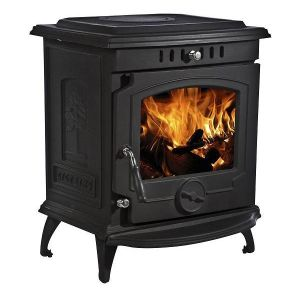 Lilyking 659 Matt Black Multi Fuel Stove