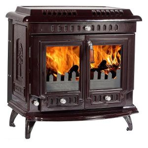 Multifuel Stoves   Traditional Stoves   Lilyking 667 Coloured Enamel