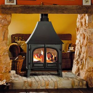 Stovax Stockton 8 Double Sided Multifuel Wood Burning Stove