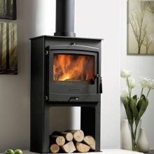 Portway 2 Contemporary Multi Fuel Stove