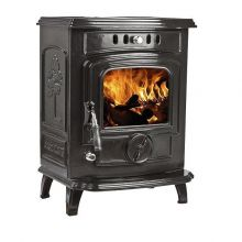 Lilyking 627 Black Enamel Multi Fuel Boiler Stove