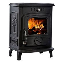 Lilyking 627 Matt Black Multi Fuel Boiler Stove