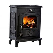 Lilyking 629 Matt Black Multi Fuel Stove