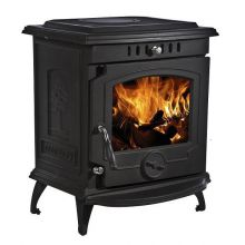 Lilyking 657 Matt Black Multi Fuel Boiler Stove
