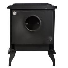 Lilyking 657 Multi Fuel Boiler Stove Rear View