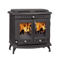 Lilyking 669 Matt Black Multi Fuel Stove
