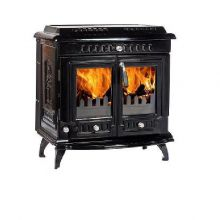 Lilyking 669 Black Enamel Multi Fuel Stove