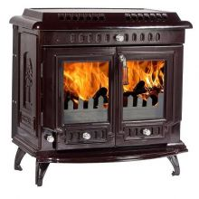 Lilyking 669 Coloured Enamel Multi Fuel Stove
