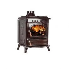 Lilyking 677 Coloured Enamel Multi Fuel Boiler Stove