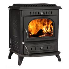 Lilyking 679 Matt Black Multi Fuel Stove