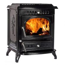 Lilyking 679 Black Enamel Multi Fuel Stove