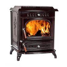 Lilyking 679 Coloured Enamel Multi Fuel Stove