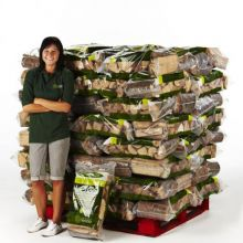 Kiln Dried Logs - 80 Bag Pallet