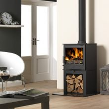 ACR Buxton SE Log Store Multi Fuel / Woodburning Stove