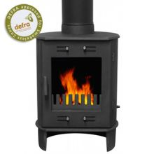 Carron Dante Matt Black Wood-Burning / Multifuel Stove