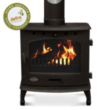 Carron 7.3kW SE Matt Black Multifuel / Woodburning Stove