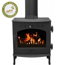 Carron 5kW Matt Black Multifuel / Wood-Burning Stove