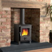 Cast Tec Firemaster 5 Wood Burning / Smokeless Fuel Stove