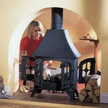 Yeoman County Double Sided Woodburning / Multifuel Stove