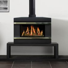 Gazco F67 Riva Gas Stove with Bench