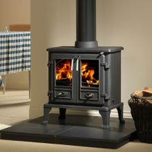 Gallery Collection Firefox 8 Twin Door Multifuel / Woodburning Stove