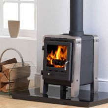 Gallery Collection Firefox Kooga Cleanburn Wood-Burning Stove