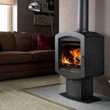 Firebelly Stoves Firepod Contemporary Wood Burning Stove
