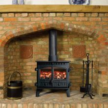 Hunter Herald 8 Multi-Fuel Central Heating Boiler Stove