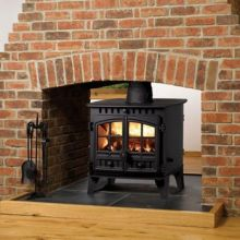 Hunter Herald 6 Double Sided Multi-Fuel Stove