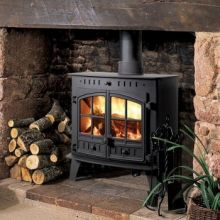 Hunter Herald 80b Multi-Fuel Central Heating Boiler Stove