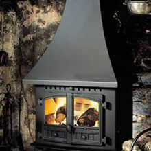 Hunter Herald Inglenook Multi-Fuel Stove