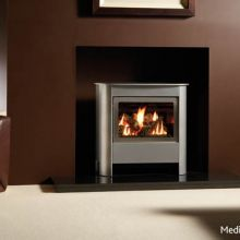 Gazco Medium Steel Manhattan Gas Stove