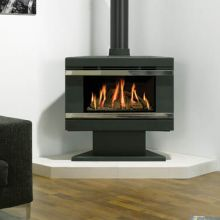 Gazco F67 Riva Gas Stove with Pedestal