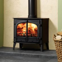 Stovax Stockton 11HB Multifuel Wood Burning Boiler Stove