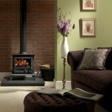 Gallery Collection Classic 8 Cleanburn Multifuel / Woodburning Stove