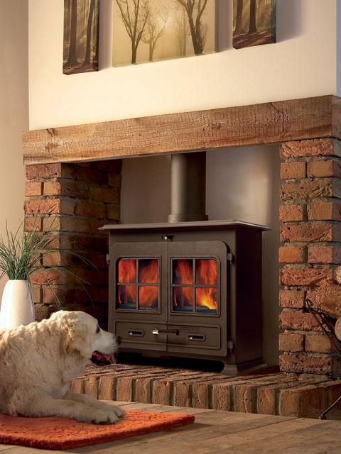 Portway 3 Large Traditional Multi Fuel Stove Leeds Stove