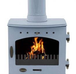 Carron 7.3kW China Blue Enamel SE Multi-fuel / Wood Burning Stove