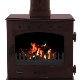 Carron 7.3kW Egg Plant Enamel SE Multi-fuel / Wood Burning Stove