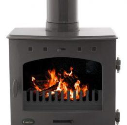 Carron 7.3kW Pebble Enamel SE Multi-fuel / Wood Burning Stove