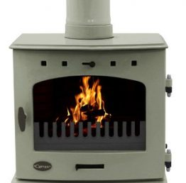 Carron 7.3kW Sage Green Enamel SE Multi-fuel / Wood Burning Stove