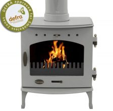 Carron 7.3kW Ash Grey Enamel