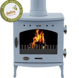 Carron 7.3kW China Blue Enamel