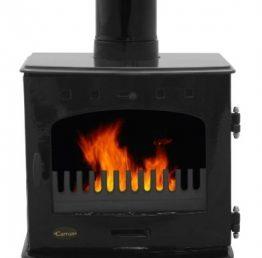 Carron 7.3kW SE Black Enamel Multifuel / Wood-Burning Stove