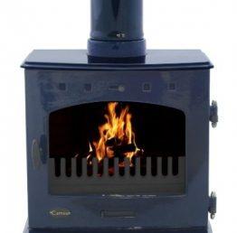 Carron 7.3kW SE Blue Enamel Multifuel / Woodburning Stove