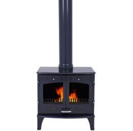 Carron 11kW SE Blue Enamel Multi Fuel / Woodburning Stove