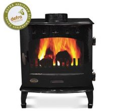 Carron 7.3kW SE Black Enamel
